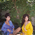 Kendall and Kylie Jenner pose in colorful silk robes for new photos