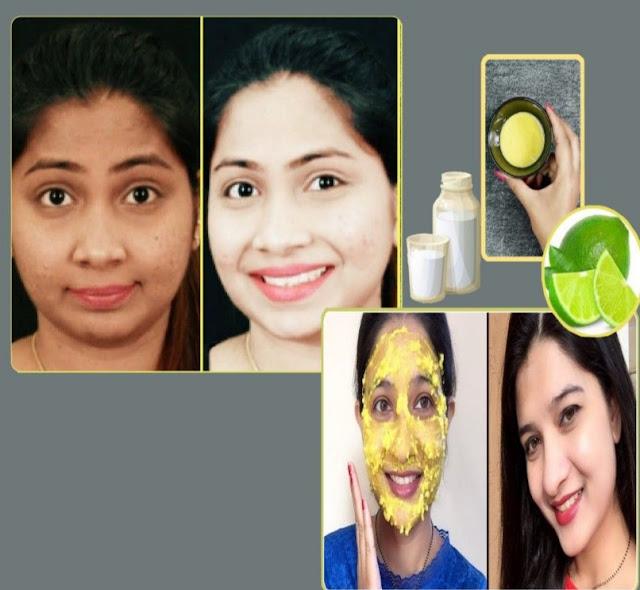 Masque au citron vert et au lait pour rajeunir la peau du visage