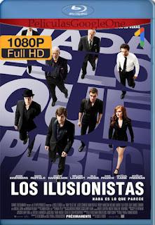 Los Ilusionistas (Now You See Me) (2013) [1080p BRrip] [Latino-Inglés] [LaPipiotaHD]