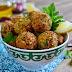 Falafel (chickpea croquettes)