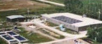 picture of land based fish farm in manitoba
