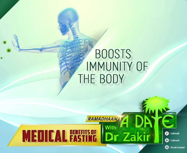 BOOSTS IMMUNITY OF THE BODY   Ramadan 2020 by Ummat-e-Nabi.com