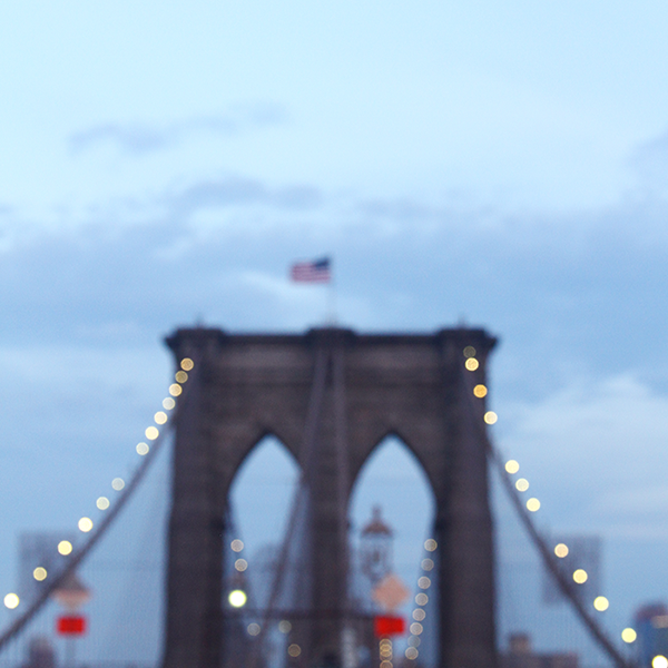 Brooklyn Bridge ar night
