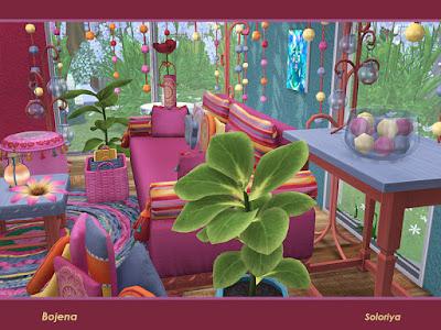бохо для The Sims 4 , интерьер в стиле бохо для The Sims 4 , стиль бохо в интерьере, бохо для The Sims 4 , интерьер для The Sims 4, спальня в стиле бохо для The Sims 4, гостиная в стиле бохо для The Sims 4, столовая в стиле бохо для The Sims 4, кабинет в стиле бохо для The Sims 4, дом в стиле бохо для The Sims 4, веранда в стиле бохо для The Sims 4, дворик в стиле бохо для The Sims 4, комната в стиле бохо для The Sims 4, мебель в стиле бохо для The Sims 4, декор в стиле бохо для The Sims 4, Bojena Гостиная Божена для The Sims 4 Бохо гостиная. Включает в себя 13 объектов, имеет 2 цветовые палитры. Предметы в наборе: - диванчик, - три вида подушек для сиденья, - пол подушки - пуф, - тумбочка, - журнальный столик, - столик, - светлый пол, - настольная лампа, - ковер, - занавес. Автор: soloriya