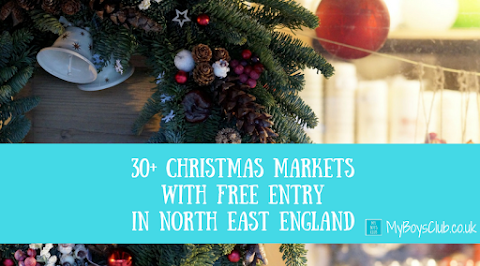 Christmas Markets with FREE ENTRY in North East England