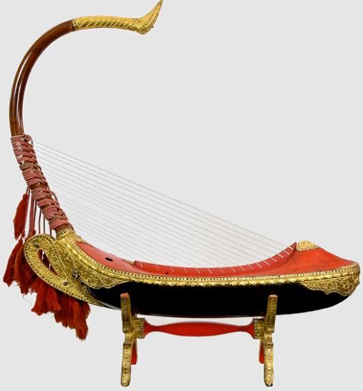 saung gauk - Alat Musik Petik Tradisional Khas Indonesia