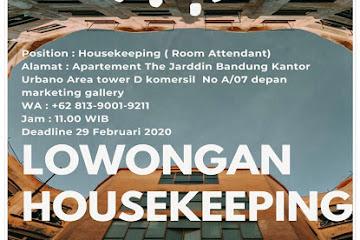 Lowongan Kerja Bandung Housekeeping Apartment The Jarddin