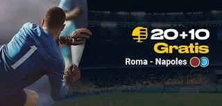 bwin promocion Roma vs Napoles 2-11-2019