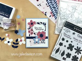 Sale-a-Bration Favorite: 6 Stampin' Up! Paper Blooms Projects ~ www.juliedavison.com #stampinup #saleabration