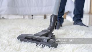 طرق تنظيف السجاد علي الناشف