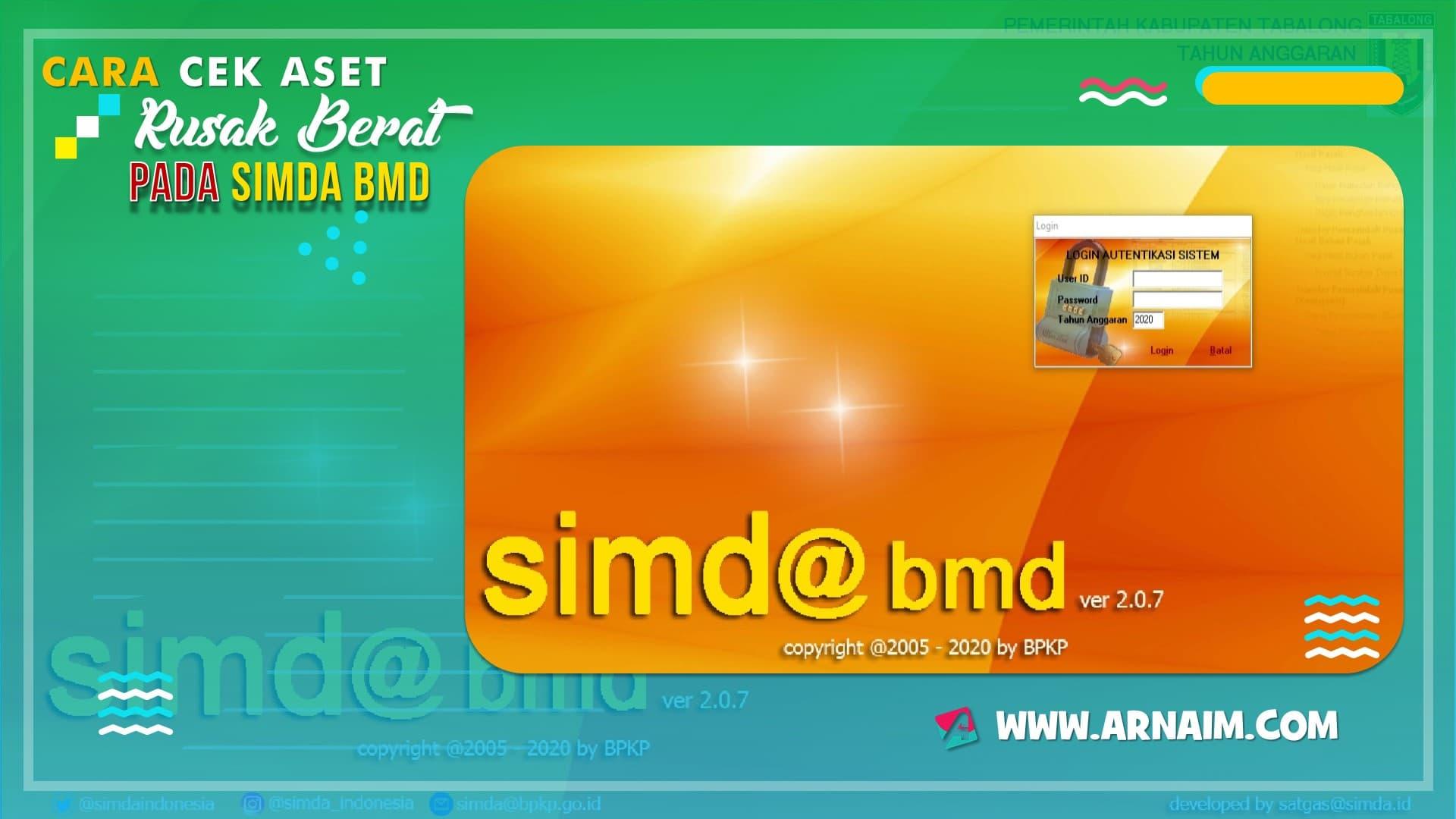 Cara Cek Aset Rusak Berat pada SIMDA BMD - arnaim.com