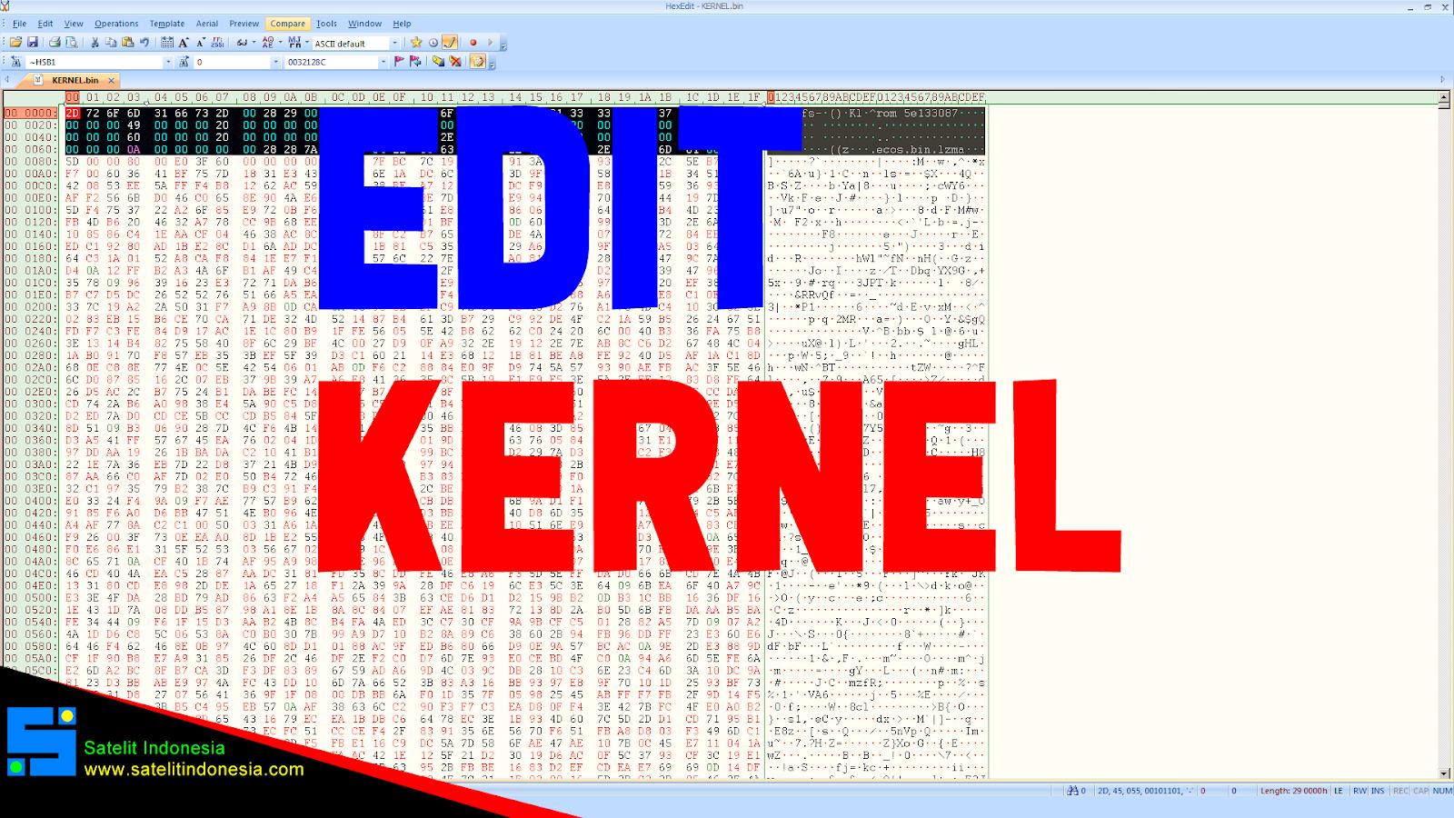 Cara Edit Kernel Firmware Receiver NationalChip GX6605S