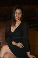 Kyra Dutta in black At Rogue Movie Audio Launch ~  023.JPG