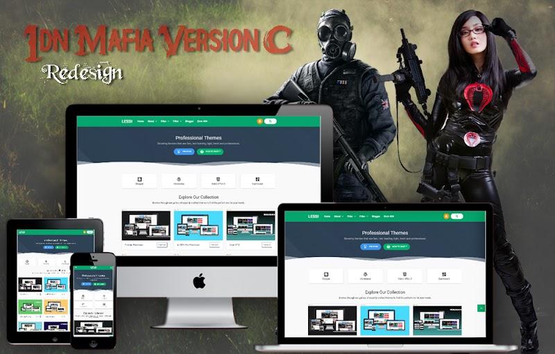 Free IDN Mafia CPro Redesign Template - Responsive Blogger Template