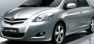 Toyota Vios Generasi Kedua atau Gen Dua