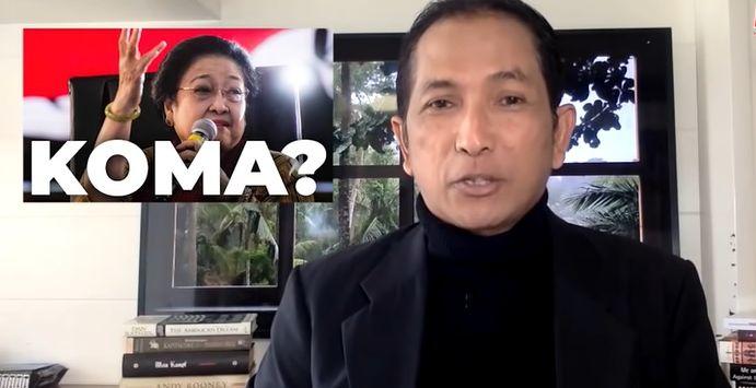 Begini Tanggapan Hersubeno Arief Soal Dituduh Sebar Hoax Megawati Koma