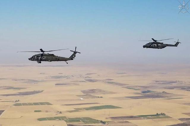 Iraq cooperazione elicotteri italiani americani