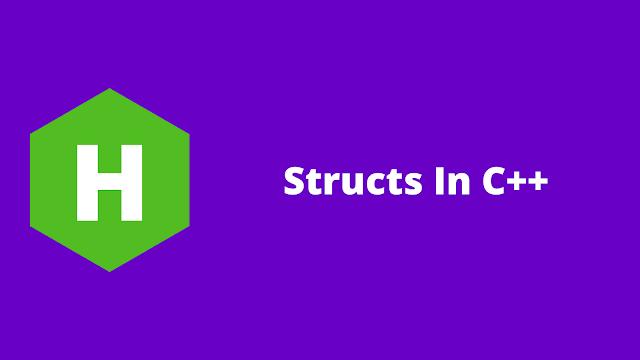 HackerRank Structs in C++ problem solution