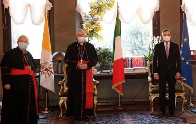 """Italia-Santa Sede, primo incontro per il """"cattolico"""" Draghi"""
