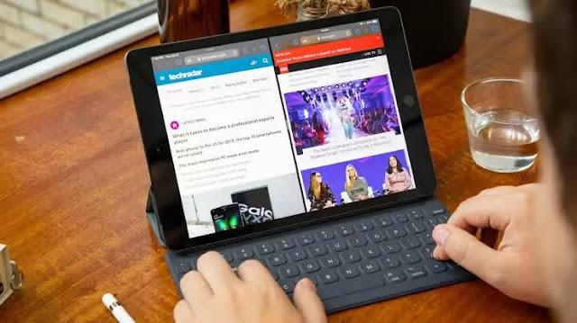 bekerja dengan iPad