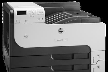 HP LaserJet 700 M712dn Driver Download Windows 10, Mac