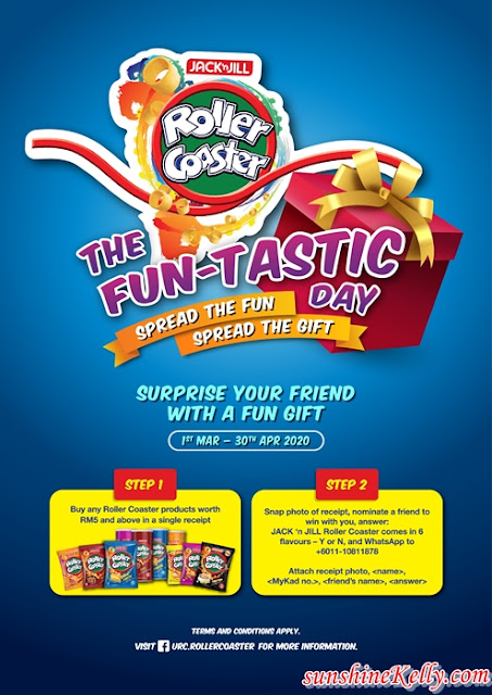 Contest, FUN-TASTIC DAY, Jack 'n Jill Roller Coaster, Snacks, food