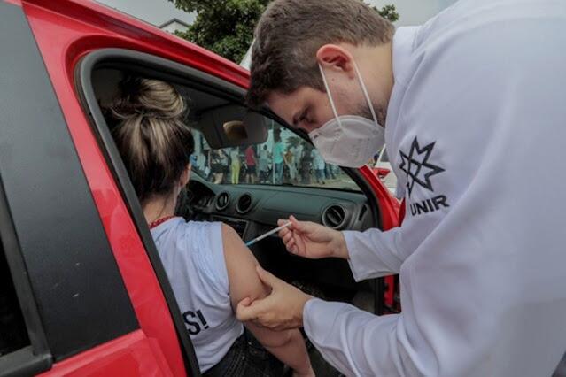 Porto Velho ultrapassa 200 mil doses de vacinas aplicadas contra Covid-19