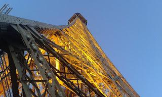 Fransa Paris Eyfel Kulesi Gece