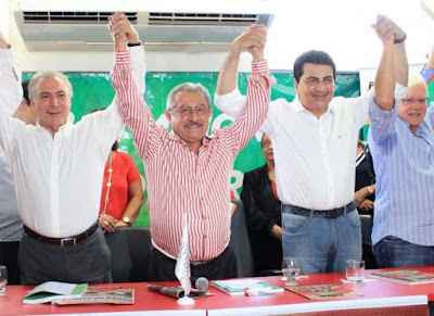 PMDB da Paraíba decide romper com o governo Dilma Rousseff