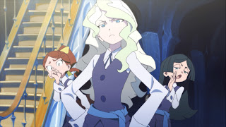 Little Witch Academia Diana Cavendish Trigger Anime Mirai 2013