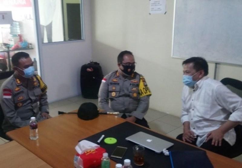 Dikunjungi Kapolres Barelang, Lukita Siap Laksanakan Maklumat Kapolri