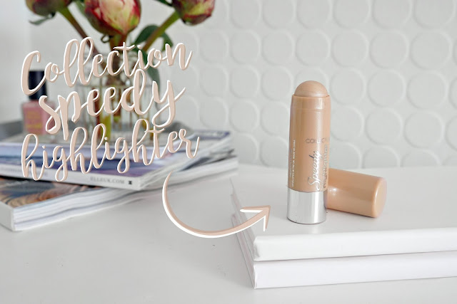 COLLECTION SPEEDY HIGHLIGHTER REVIEW - SUPERDRUG BOOTS - SUMMER GLOW