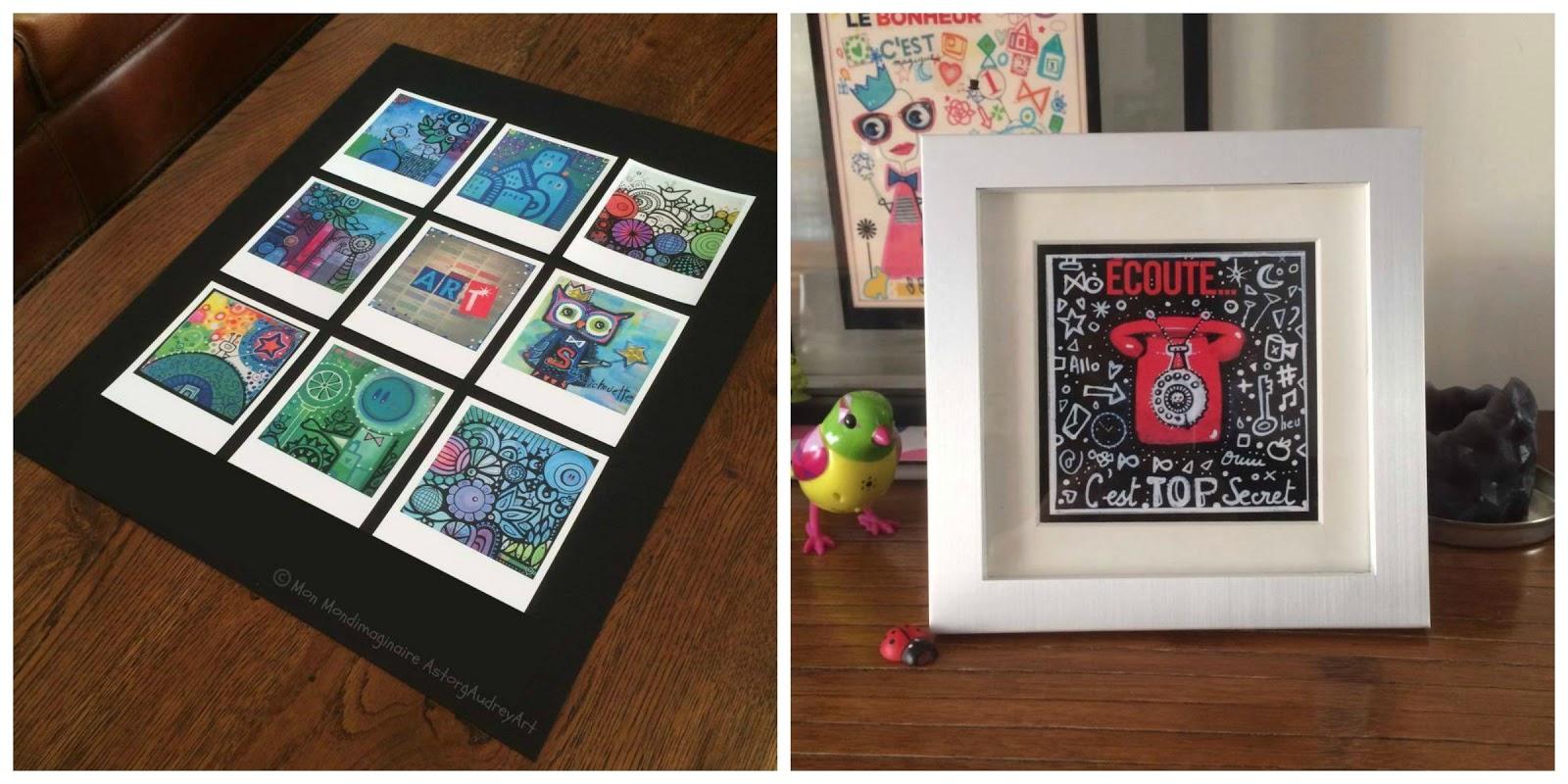 astorg audrey art mettre en valeur mes photos d 39 art style polaro d. Black Bedroom Furniture Sets. Home Design Ideas