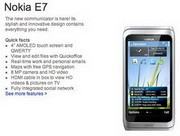 Nokia E7 available for pre-order in the U.S.