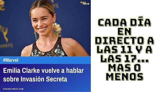 Emilia Clarke vuelve a hablar sobre Invasión Secreta