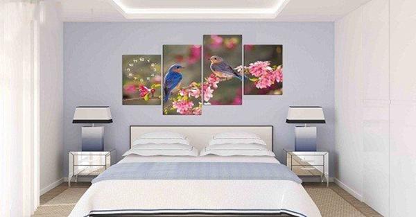 Tranh trang trí phòng cưới cho không gian lãng mạn, bay bổng