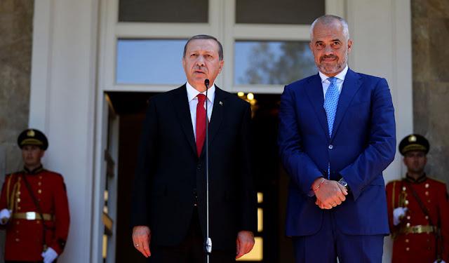 Ο Ράμα στα βήματα του Ερντογάν για την αποσταθεροποίηση των Βαλκανίων