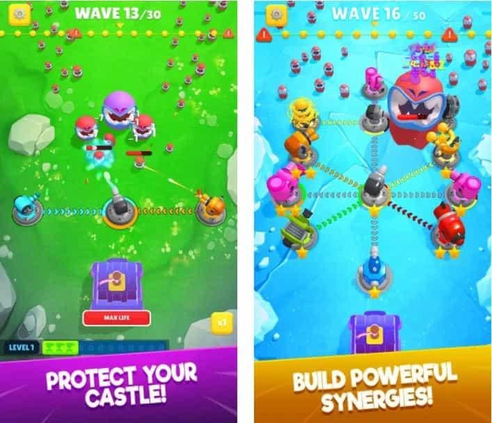 Auto Defense – Epic Real Castle Battler v1.0.1.1 MOD, Unlimited Money/Unlocked All - Game chiến lược cho điện thoại