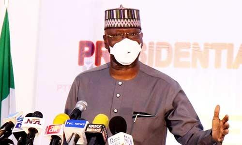 COVID-19: Use Ankara to sew face masks – Boss Mustapha tells tailors