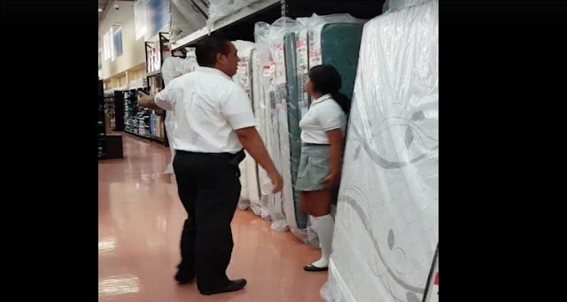 """Alumnos de secundaria usan Walmart como """"hotel"""" (VIDEO)"""