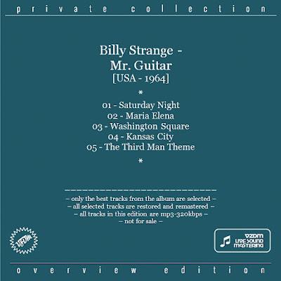 Billy Strange - Mr. Guitar (1964)
