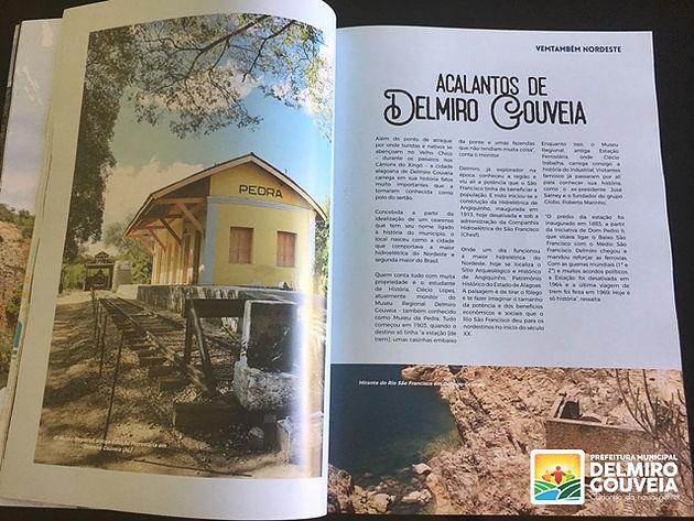 Município de Delmiro Gouveia é destaque em revista especializada em turismo