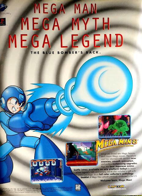 Mega Man 8 literature
