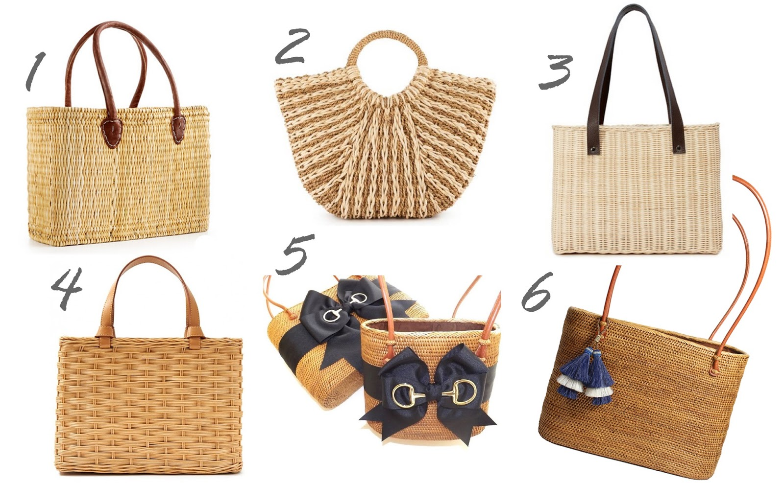 Bosom buddy bags, wicker totes, wicker tote handbags, straw tote, and straw tote handbags
