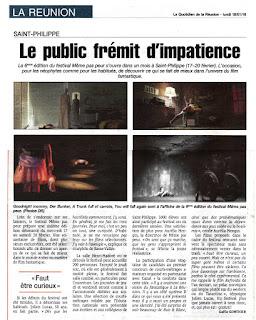 MEME PAS PEUR 2016 dans Le Quotidien