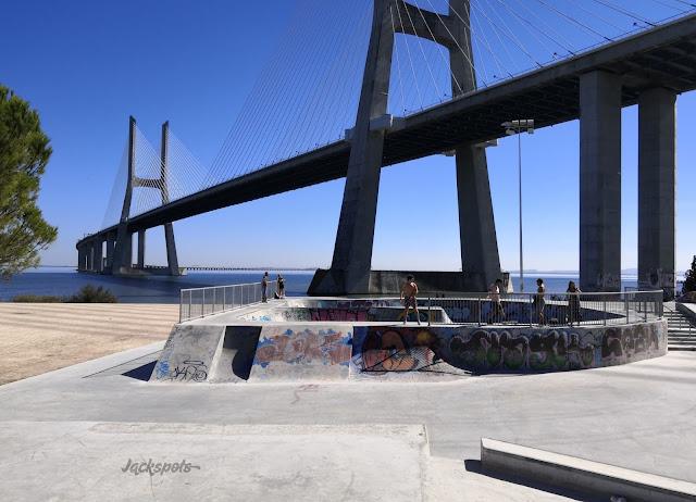 Skatepark expo lisbonne