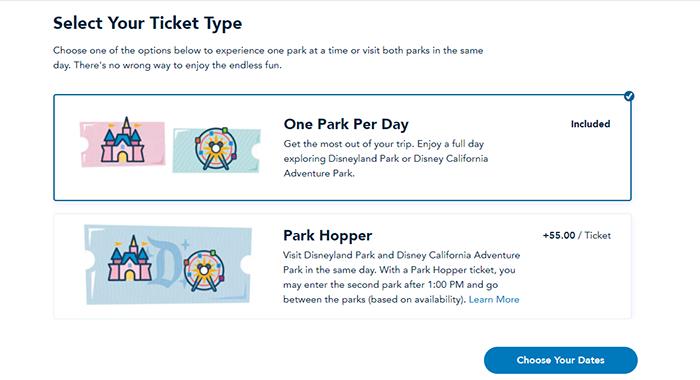 Disneyland reserva