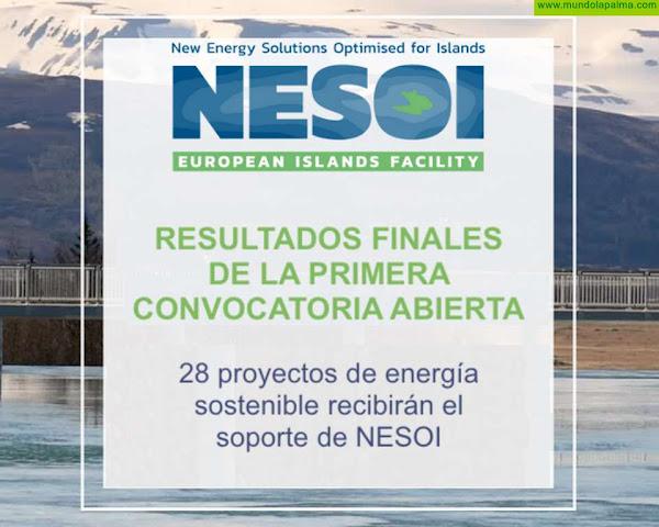 La Palma recibe el apoyo del Proyecto Europeo NESOI para la Comunidad Energética Insular que está impulsando La Palma Renovable
