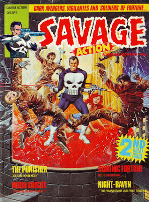 Savage Action #2, the Punisher
