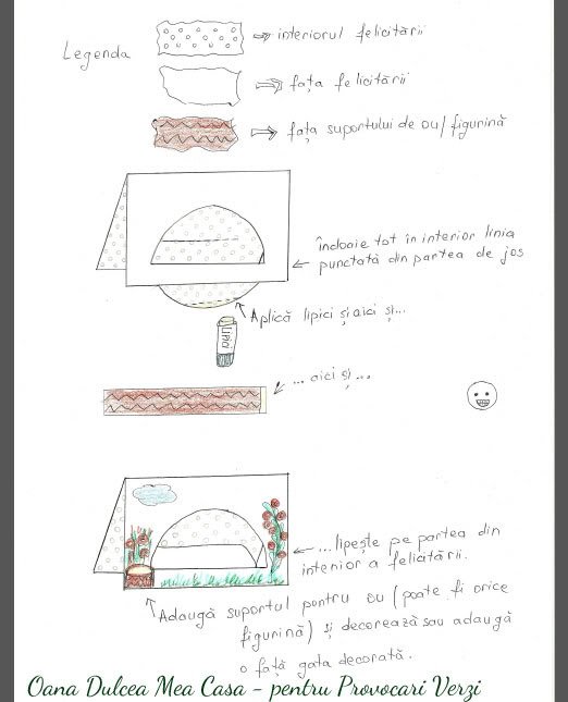 modele realizate de Oana Dulcea Mea Casa pentru provocari Verzi